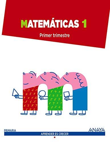 Matemáticas 1 (Aprender es crecer) - 9788467864403