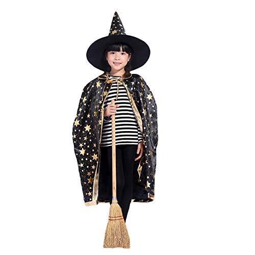 Magier Kostüm Für Kinder - Kinder Halloween Kostüm,Kinder Magier Kinderkostüm Rollenspiel
