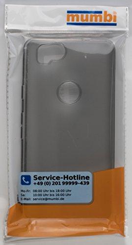mumbi Schutzhülle für Google Pixel 2 Hülle transparent schwarz - 5