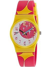 Zoop Analog Pink Dial Children's Watch -NKC3028PP07