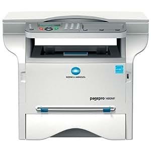 Konica Minolta pagepro 1480MF Photocopieuse / imprimante / scanner Noir et blanc laser copie (jusqu'à) : 20 ppm impression (jusqu'à) : 20 ppm 250 feuilles Hi-Speed USB CA 230 V