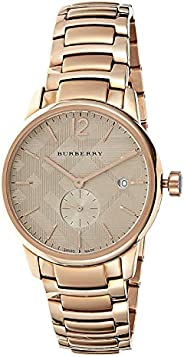 Burberry Casual Watch For Women Analog Stainless Steel - BU10013