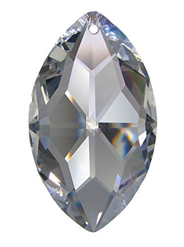Cristal ovale, qualité k9, 50mm de hauteur