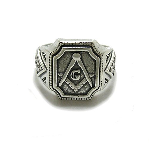 Sterling silber herren ring 925 Freimaurer R001781 Empress