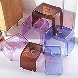 SED Praktische Stuhl Schritt Hocker Mini Stuhl Fuß Hocker für Erwachsene und Kinder Ändern Schuhe Hocker Dusche Fußstütze Haushalt Hocker für Wohnzimmer Schlafzimmer Bad und Küche Kreative Hocker,Lil