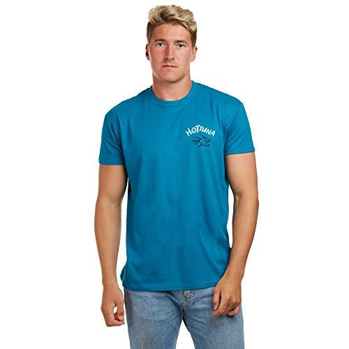 Hot Tuna Herren Off The Hook T-Shirt, Blau (Duck Blu), XX-Large - Duck Herren T-shirt