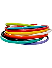 Evolution Hair Band Combo Of Rainbow Colors Small, For Dailyuse, Hair Band, School Time, Head Band, For Women/...