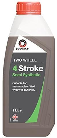 Comma FSTSS1L 1L Two Wheel 4 Stroke Semi Synthetic Motor Oil