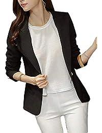 Collo Abbigliamento Amazon Coreana Donna it Giacca wXqxxZYEB 6dc6c9227f2