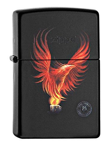 Zippo 60002084 PL Anne Stokes Feuerzeug, Messing, Edelstahloptik, 1 x 3,5 x 5,5 cm - 002 Matte
