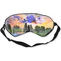 Herren Damen und Kinder Essentielle Seidig Ultimate Sleeping Lightweight Soft Mask Adjustable Beautiful Art Scenery... preisvergleich bei billige-tabletten.eu