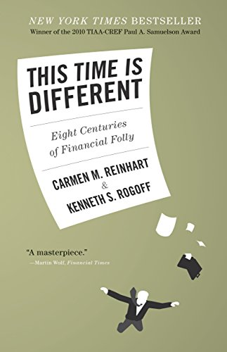 This Time Is Different Eight Centuries Of Financial Folly By Reinhart Carmen M