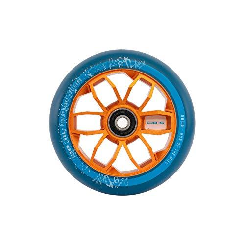 0815 Stunt Scooter Rolle Wheel 110mm Oder 120mm mit ABEC 11 Kugellager Passend für MGP Madd Gear/Apollo / Cox Swain/Hudora / Chilli Etc. (Orange, 110 mm)