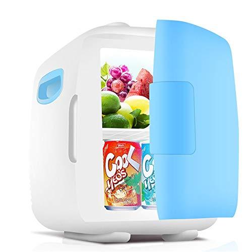 Yuqianqian Kühlbox,Mini-Kühlschrank für Auto Tragbarer Mini-Kühlschrank mit 5 Litern Fassungsvermögen, 100% Freon-frei und umweltfreundlich, kühlt und heizt ab (Farbe : Grün, Größe : 21 * 27 * 27cm)
