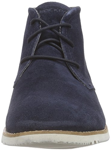 Rockport - Ledge Hill Too Chukka, Stivali chukka Uomo Blu (Blau (NEW DRESS BLUES))