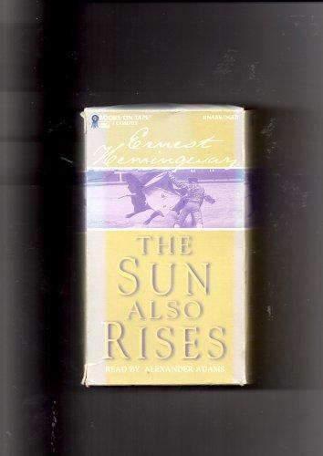 the-sun-also-rises-audio-cassette-unabridged