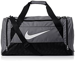 Nike Sporttasche Brasilia 6 Small Duffel, grau, 52 x 28 x 33 cm, 48 Liter, BA4831-074