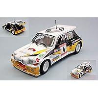 Solido SL1850014 Renault 5 Maxi Turbo N.4 Rally DE Asturias 1986 SAINZ-BOTO