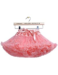 Layered Ruffle Tulle Ballet Girls Jupe Tutu 0-10T