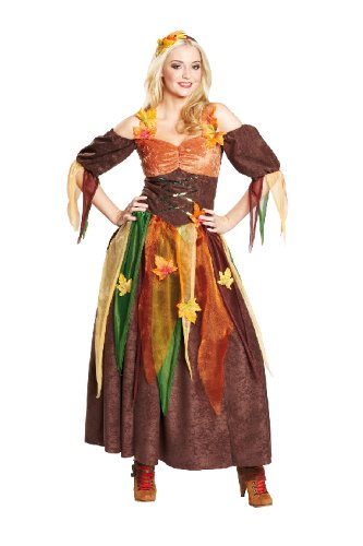 Rubie's Karneval Damen Kostüm Herbst Fee Hexe an Fasching Größe (Herbst Kostüme)