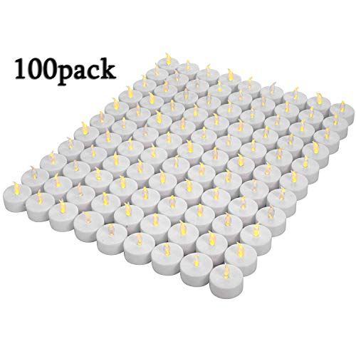 Lot de 100bougies LED Bougies CR...