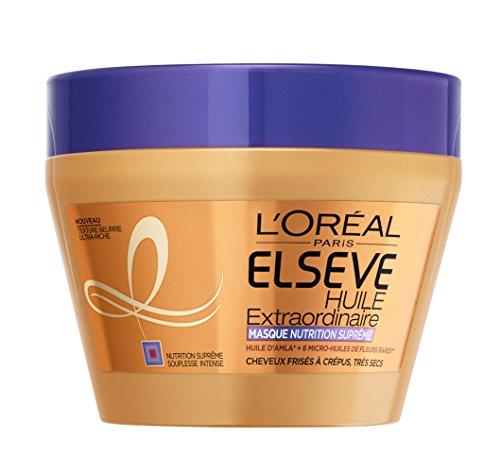 L'Oréal Elsève Curl Nutrition Masque à Rincer Cheveux Très Secs, Bouclés à Crépus 300 ml
