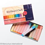 Mercurius Blackboard Pastel Chalk 12 Colors Assorted