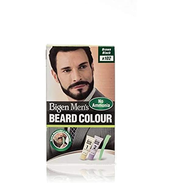 Bigen, Hoyu Co. B102 - Barba para hombre, color marrón y ...