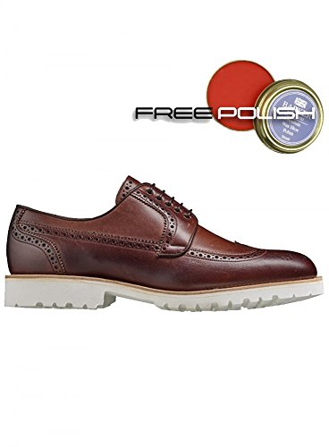 Vitello Barker Di Marrone Derby Falco Homme noce 446Z1qY