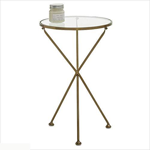 Lyxpuzi nordic tavolino lato oro in ferro battuto angolare soggiorno divano tavolino letto in metallo piccolo armadio