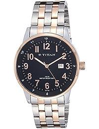 Titan Analog Black Dial Men's Watch-NK9441KM01