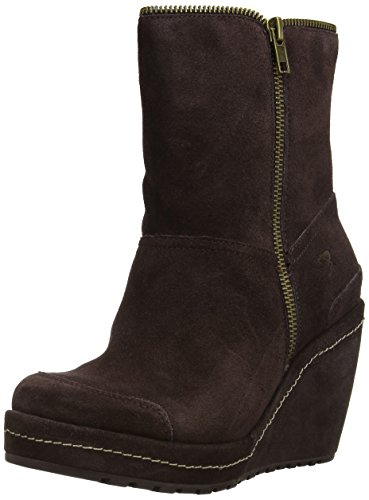 Rocket Dog BOYD Damen Warm gefütterte Schneestiefel Braun (TRIBAL BROWN)