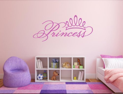 prinzessin-crown-wandaufkleber-mdchen-schlafzimmer-aufkleber-kinderzimmer-teenager-girl-gold-matt-re