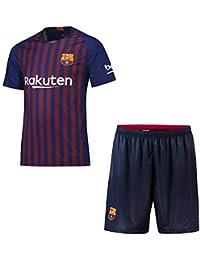 Zounghy Sudadera de Futbol 2018-2019 (Local y Visitante) Camiseta de Fútbol de la UEFA y Shorts Equipo de la Camiseta de Fútbol - Personalizado…