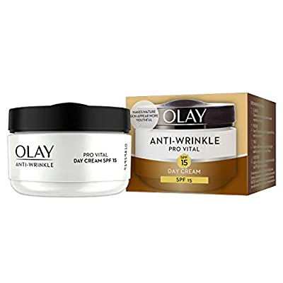 Olay Anti-Wrinkle Pro Vital Anti-Ageing Moisturiser Day Cream SPF 15, 50 ml