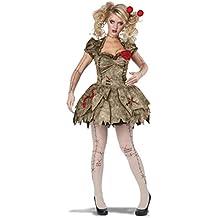 Costume Carnevale Vestito Bambola Voodoo di Halloween – sexy donna Small