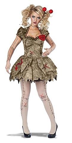 Erwachsene Voodoo Dolly Kleid Halloween Kostüm