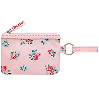 Cath Kidston Kids Small Oilcloth Pocket Purse in Pink Arley Bunch design