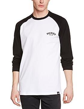 Dickies Herren Langarmshirt Streetwear Male T-Shirt Baseball