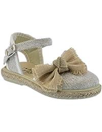 Zapato de Tejido Tipo Lino Ceremonia combinada con Lazo Lino y Piso de Yute