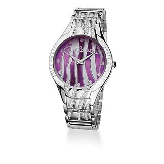 Just Cavalli Instinct Just Time R7253164615 – Reloj de Mujer de Cuarzo, Correa de Acero Inoxidable Color Plata