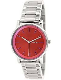 DKNY End of Season Analog Red Dial Women's Watch - NY2267
