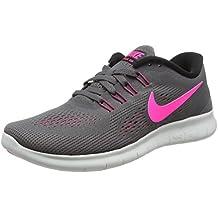 buy popular 7254b ec247 Nike Damen Free Rn Laufschuhe Bianco