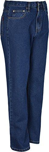 Heavy Duty Herren Jeans Hose, Innenbeinlänge: 79 cm großen Größen 29 bis 66 Blau - Blau