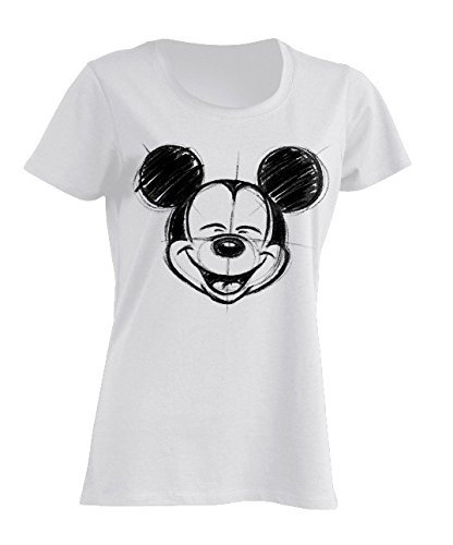 (Disney Licenses Mickey Mouse T-Shirt, 100% Baumwolle (S))