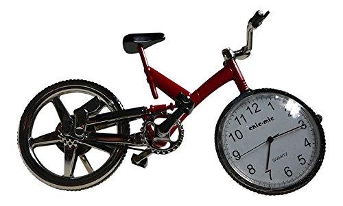 Miniatur Uhr - Mountainbike - Fahrrad, Rennrad - Vintage Uhr - Sammleruhr mit hochwertiger Geschenkbox