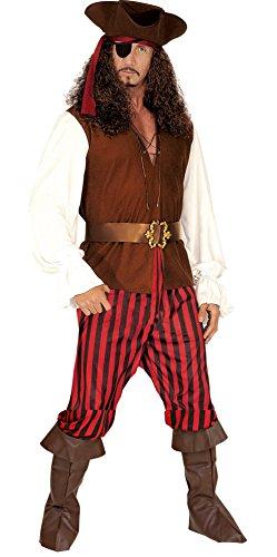 (Widmann 5686P Erwachsenenkostüm Piratenkapitän, 48)