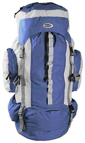 Trekkingrucksack Wanderrucksack Rucksack Tasche ca. 75 Liter vers. Farben (Blau)