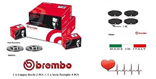 09B35411-P56062 Kit Dischi e Pastiglie Freno Anteriori Brembo