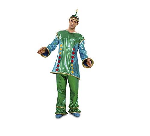 Imagen de disfraz marciano extraterrestre para hombre t. m l